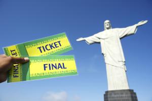 Soccer World Cup Tickets at Corcovado Rio de Janeiro