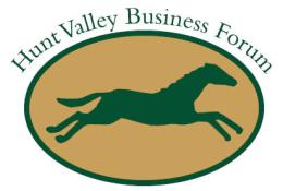 Hunt Valley Business Forum