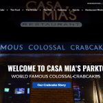 SPARKS! Launches New Site For Casa Mia's Restaurant