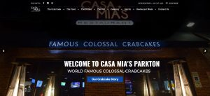 New Website For Casa Mias Restaurant Parkton