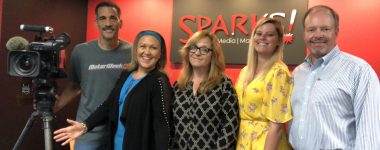 Yolanda Vasquez and MPT Visit SPARKS!