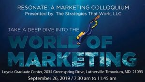 SPARKS! Presenting at World of Marketing September 26th